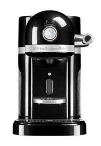 KitchenAid Nespresso Machine + Aeroccino Onyx Black