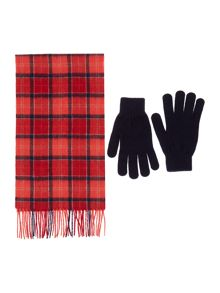 scarf and glove gift box set