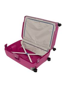 S`cure fuchsia 4 wheel 75cm spinner