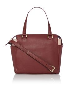 menna cross body bowler handbag