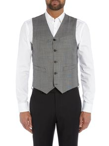 Paul Smith London The Byard Check Mohair Slim Fit Waistcoat