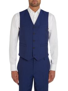 Paul Smith London The Byard Mohair Plain Slim Fit Waistcoat