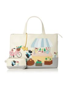 Market Day multi tote bag