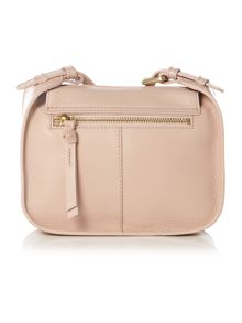 Thread needle street light pink cross body bag