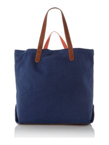 Sheila blue tote bag