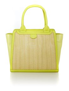 Nikki yellow tote bag