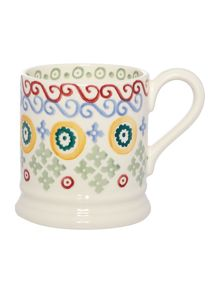 Emma Bridgewater Folk Border 1/2 Pint Mug