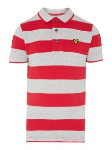 Boys Bold Stripe Polo