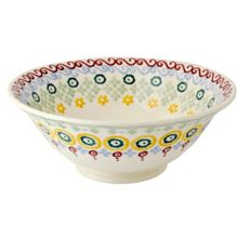 Folk Border Serving Bowl