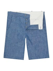 Levi's Regular Fit Chambray Chino Shorts