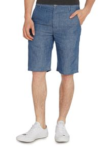 Regular Fit Chambray Chino Shorts