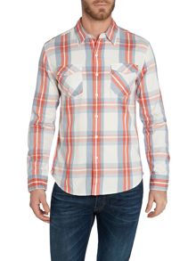 Levi's Classic Fit Long Sleeve Shirt In Big Check