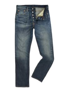 501® Straight Leg Jean In Hunkle Wash