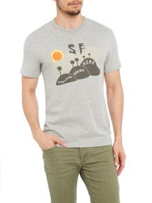 Levi's Crew Neck Regular Fit T-Shirt In Sf Print