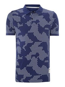 G-Star Graphic Polo Regular Fit Polo Shirt