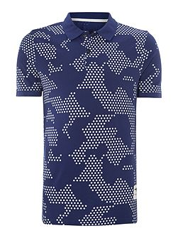 Graphic Polo Regular Fit Polo Shirt