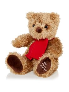 My first christmas small teddy bear