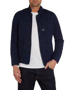 Casual Deconstructed Button Up Blazer