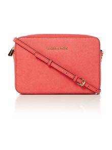Jetset travel pink cross body bag