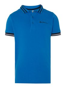 Boys classic tipped polo