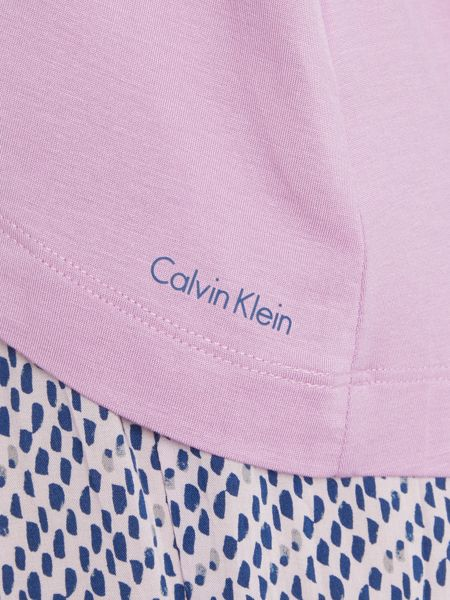 Calvin Klein modal logo long sleeve pj top