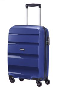 American Tourister Bon Air navy 4 wheel hard cabin suitcase
