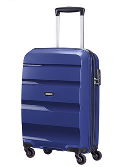 Bon Air navy 4 wheel hard medium case