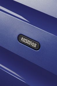 American Tourister Bon Air navy  4 wheel hard medium case