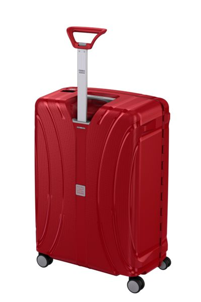 American Tourister Lock`N`Roll red 4 wheel hard medium spinner