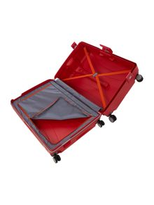 Lock`N`Roll red 4 wheel hard large spinner