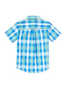 Lyle and Scott Boys Short Sleeve Check Shirt
