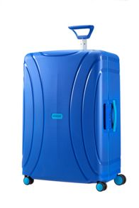 Lock 'n' Roll Sky blue 4 Wheel Luggage