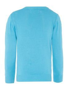Boys Classic Crew Neck Jumper