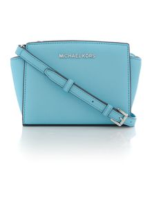 Selma blue small cross body bag
