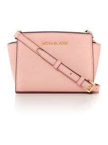 Selma pink small cross body bag