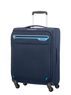 Lightway midnight blue 4 wheel soft medium case