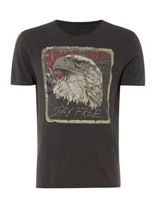Eagle Graphic Slim Fit T-Shirt