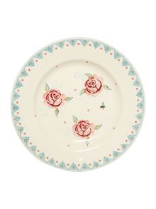 Emma Bridgewater Rose & Bee 10 1/2 Plate