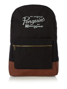 Original Penguin Cotton Rucksack