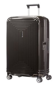 Samsonite Neo pulse metallic black 4 wheel range