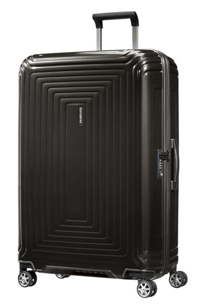 Samsonite Neo pulse metallic black 4 wheel 75cm large case