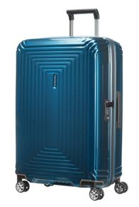 Neo pulse metallic blue 4 wheel cabin 55cm