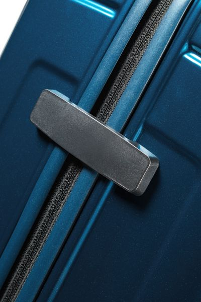 Samsonite Neo pulse metallic blue 4 wheel 75cm spinner