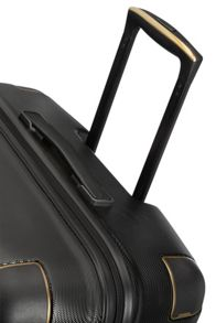 Samsonite Splendor black 8 wheel 55cm cabin suitcase