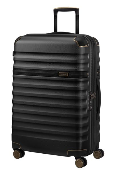 Samsonite Splendor black 8 wheel 68cm medium suitcase