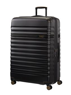 Splendor black 8 wheel 81cm extra large suitcase