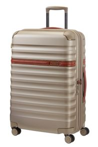 Samsonite Splendor ivory 8 wheel 68cm medium suitcase