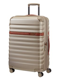 Splendor ivory 8 wheel 68cm medium suitcase