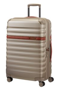 Samsonite Splendor ivory 8 wheel 81cm extra large suitcase