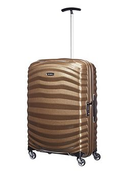 Lite-Shock sand 4 wheel 55cm cabin suitcase